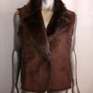 Beautiful Boden Faux Fur Vest - Sz. 10 - B10
